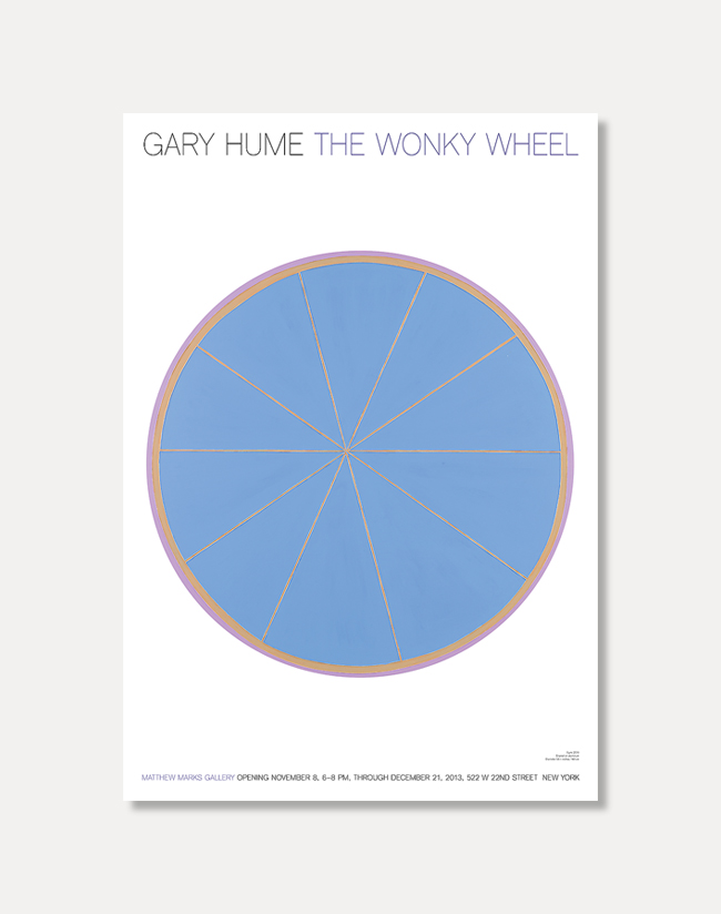 [게리 흄] The Wonky Wheel 51 x 73 cm