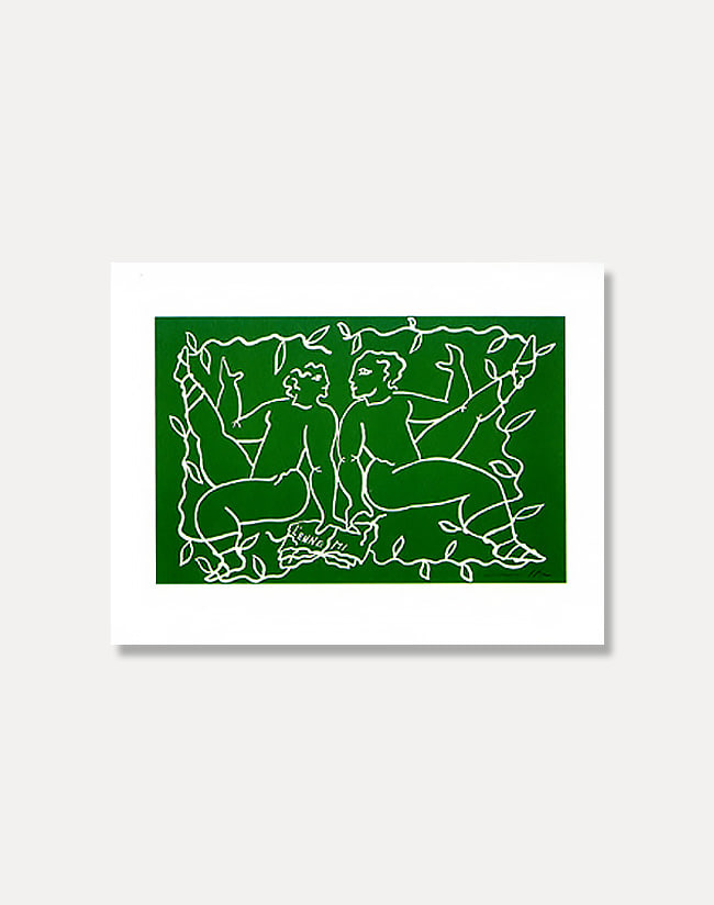 [마르코델리]Greeting Card - THE ENEMY 25 x 20 cm