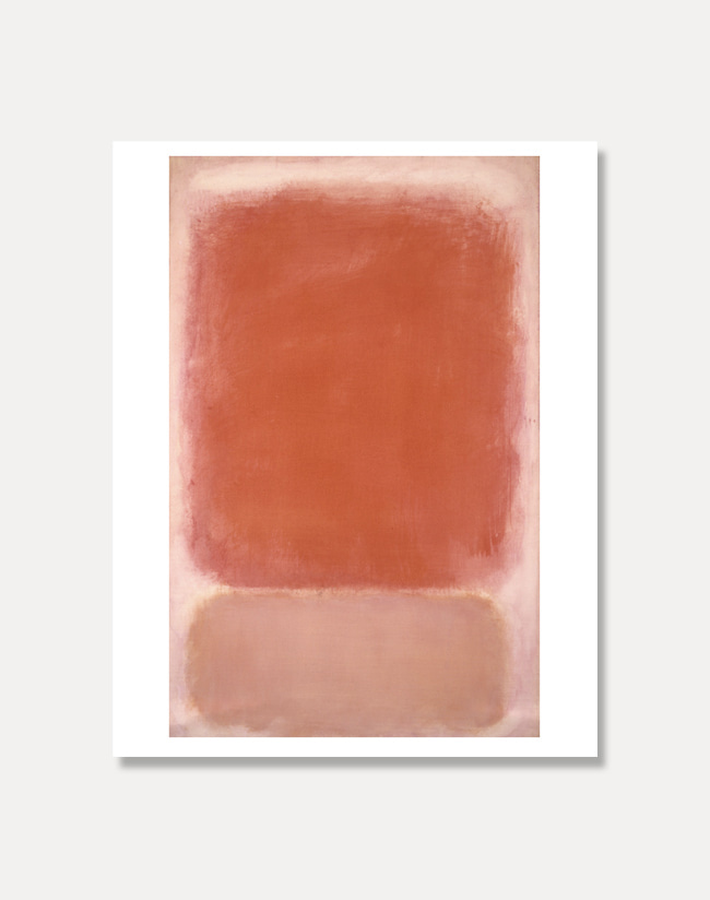 [마크 로스코] RED AND PINK ON PINK81 x 101 cm