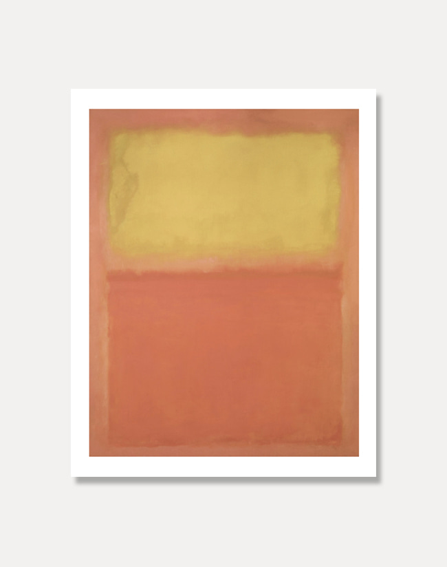[마크 로스코]ORANGE AND YELLOW81 x 101 cm