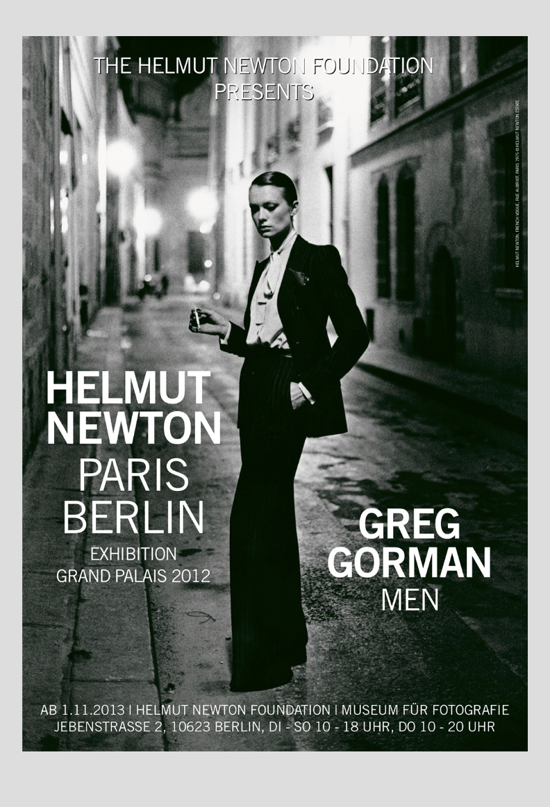 [헬무트뉴튼]Paris Berlin Gorman, Men59.4 x 84.1 cm (A1)