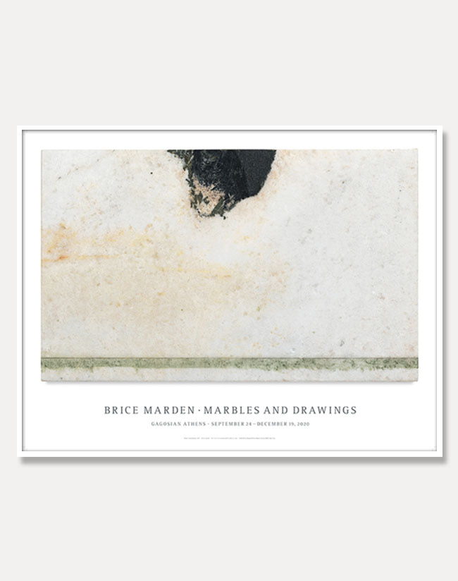 [브라이스 마든]Brice Marden —  Marbles and Drawings Poster (액자포함) 81 × 63 cm