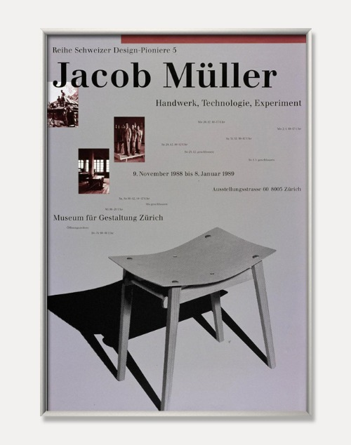 [야곱 뮬러]Jacob Müller — Handwerk Technologie Experiment(액자포함)90.5 x 128 cm