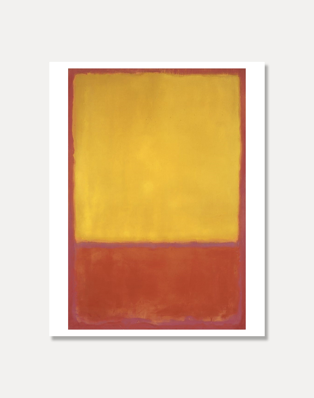 [마크로스코]MARK ROTHKO — Ochre and Red on Red 81 x 101 cm
