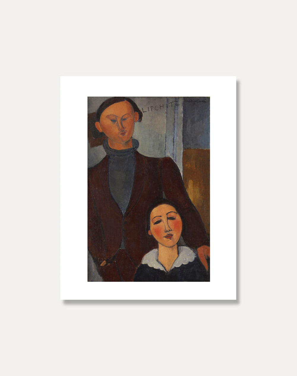 [아메데오 모딜라니]AMEDEO MODIGLIANI ― Jacques and Berthe Lipchitz 20 x 25 cm