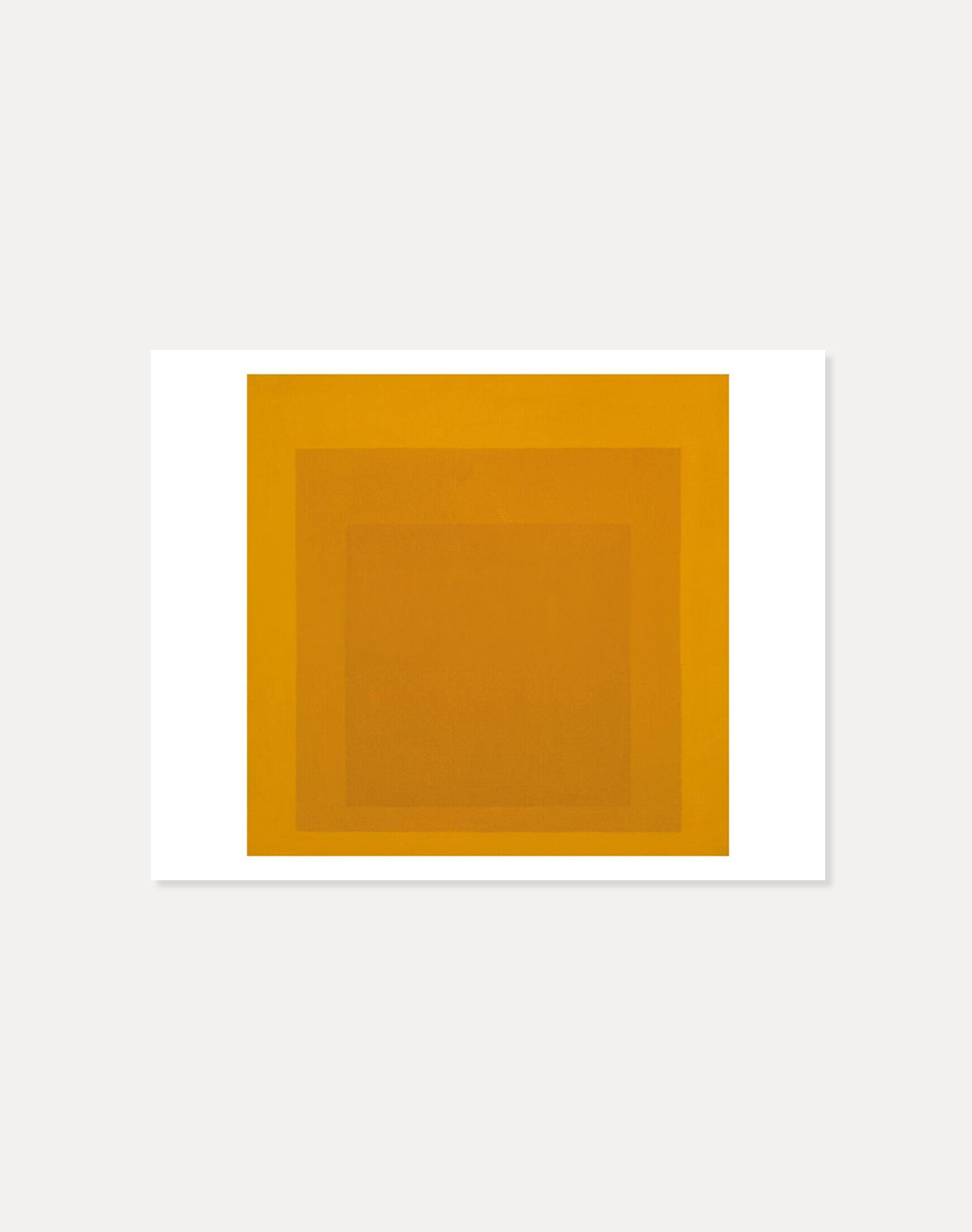 [죠세프 알베르스] Josef Albers —  Study for Homage to the Square: Gold 40.5 x 51 cm
