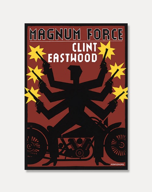 [Film Poster] Magnum Force (액자포함)70 x 100 cm